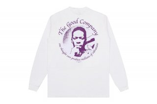<img class='new_mark_img1' src='https://img.shop-pro.jp/img/new/icons5.gif' style='border:none;display:inline;margin:0px;padding:0px;width:auto;' />(The Good Company) VIBRATIONS LONG SLEEVE - WHITE/PURPLE