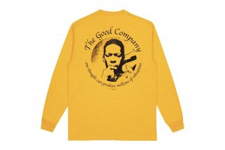 <img class='new_mark_img1' src='https://img.shop-pro.jp/img/new/icons5.gif' style='border:none;display:inline;margin:0px;padding:0px;width:auto;' />(The Good Company) VIBRATIONS LONG SLEEVE - GOLD/BLACK