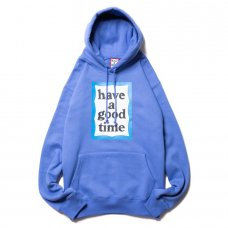 <img class='new_mark_img1' src='https://img.shop-pro.jp/img/new/icons5.gif' style='border:none;display:inline;margin:0px;padding:0px;width:auto;' />(have a good time) BLUE FRAME PULLOVER HOODIE - AZURE