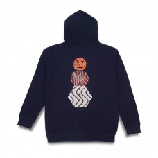 <img class='new_mark_img1' src='https://img.shop-pro.jp/img/new/icons5.gif' style='border:none;display:inline;margin:0px;padding:0px;width:auto;' />(QUARTER SNACKS) SNACKMAN HOODY - NAVY