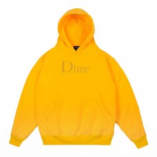 (Dime MTL) DIME CLASSIC HOODIE - YELLOW
