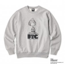 (FTC) FTC x PEANUTS PEPPERMINT PATTY CREW - GRAY