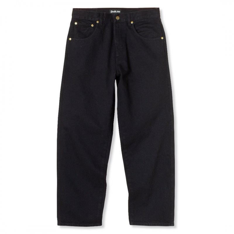 <img class='new_mark_img1' src='https://img.shop-pro.jp/img/new/icons5.gif' style='border:none;display:inline;margin:0px;padding:0px;width:auto;' />(Chocolate Jesus) CJ DENIM PANT - BLACK