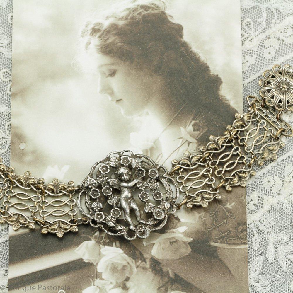 花園の天使 ブレスレット 1930~1940