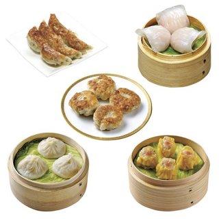 広東餃子・焼売・小籠包ほか5種アソート