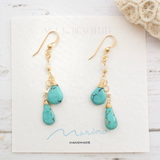 〈14KGF-P-125〉Turquoise
