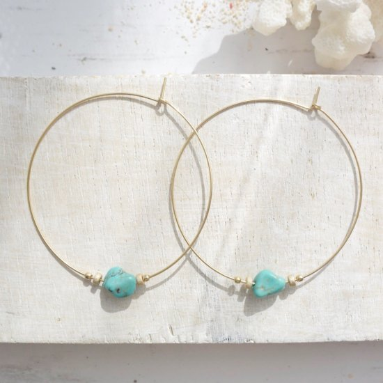 〈14KGF-P-130〉Turquoise 1