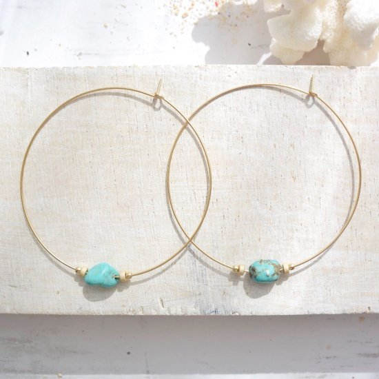 〈14KGF-P-130〉Turquoise 2