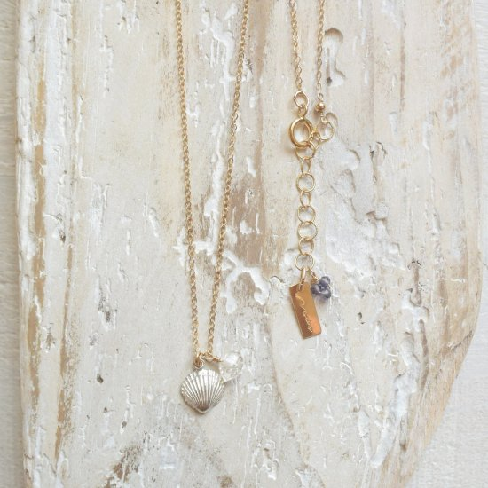〈Cast of real ocean〉Shell Necklace
