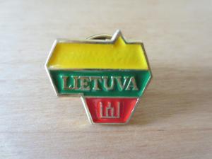 ピンバッジ リトアニア