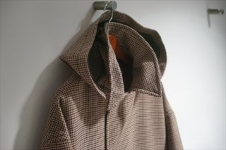 UNUSED(アンユーズド)Check Coat/Brown