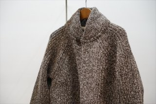 O project/オープロジェクト Oversized Chunky Knitted Cardigan