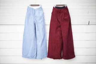 UNUSEDアンユーズドfor women Corduroy Pants