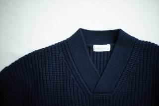 Phlannelフランネル Cashmere Wool US Military Sweater/D.Navy