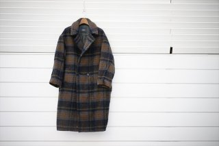 UNUSED(アンユーズド) Check Coat/Gray