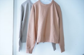 Phlannel(フランネル)for women  Suvin Cotton Sweat Shirt