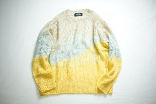 UNUSED(アンユーズド)Crew Neck Knit/Mix