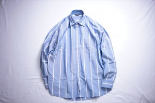 UNUSED(アンユーズド)Stripe Shirt/Blue×White