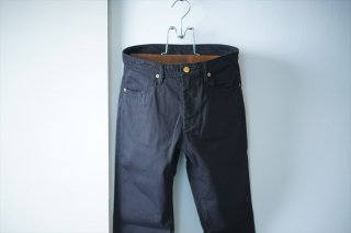 UNUSED(アンユーズド)10oz denim stretch slim pants/Black