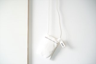 Aeta(アエタ) FLAT POUCH SHOULDER Type B /White