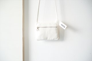 Aeta(アエタ) FLAT POUCH SHOULDER Type A /White