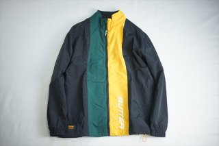 Butter Goods バターグッズ Runner Tracksuit Jacket/Black:Forest