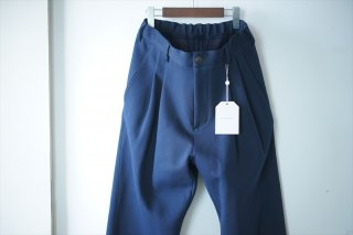 UNIVERSAL PRODUCTS ユニバーサルプロダクト Sweat Wide Easy Slacks/Navy