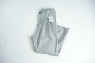 UNIVERSAL PRODUCTS ユニバーサルプロダクツ Sweat Wide Easy Slacks/Gray