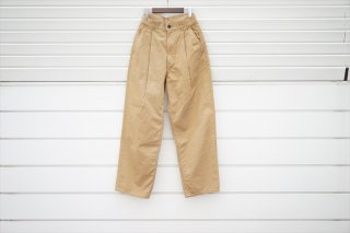 Graphpaper(グラフペーパー)for women  Chino Two Tuck Pants/Beige