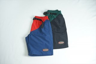 Butter Goods(バターグッズ)Split Shorts/Red:Navy/ Forest:Black