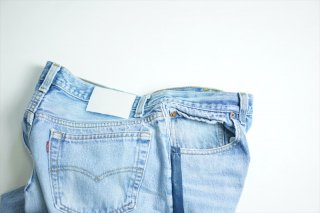 UNUSED(アンユーズド)/Levi's 501 Remake Denim Pants/Navy Line