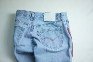 UNUSED(アンユーズド)/Levi's 501 Remake Denim Pants/Bordeaux Line
