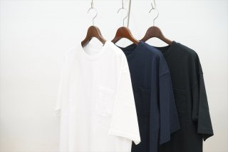 UNIVERSAL PRODUCTS(ユニバーサルプロダクツ)HEAVY WEIGHT S/S T-SHIRT/White/Navy/Black/