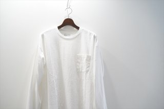 UNIVERSAL PRODUCTS (ユニバーサルプロダクツ)Heavy Weight Big Pocket T-Shirt Long Sleeve
