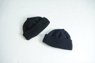 comesandgoes(カムズアンドゴーズ) Knit&Melton Cap/Black/Navy/