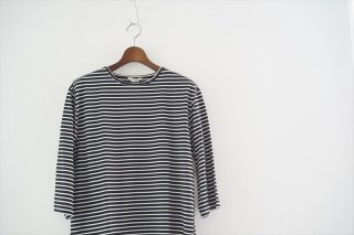 FLAMAND(フラマン)BOAT/Stripe Noir×White