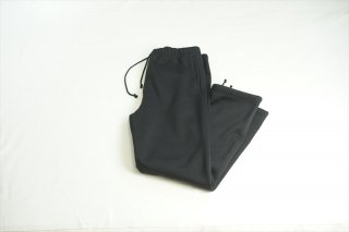 AURALEE(オーラリー)BAGGY POLYESTER SWEAT PANTS/Black