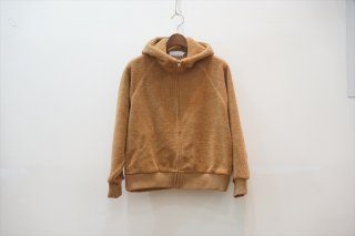 Graphpaper(グラフペーパー)for women  Wool Boa Zip Parka