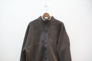 Graphpaper(グラフペーパー)Wool Boa Hi-Neck Full Open Blouson/Gray/Khaki