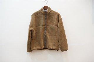 Graphpaper(グラフペーパー)for women  Wool Boa Hi-Neck Full Open Blouson