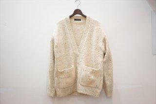 UNUSED(アンユーズド)Hand Knit Cardigan/Ivory