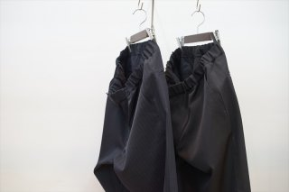 Graphpaper(グラフペーパー)Selvage Wool Cock Pants/Navy ST/Black