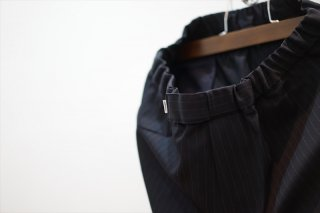 Graphpaper(グラフペーパー)Selvage Wool Cock Pants/Navy ST/
