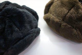 comesandgoes(カムズアンドゴーズ)Fur Ear Cap/Black/Brown/