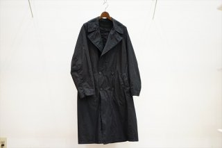 Graphpaper(グラフペーパー)Garment Dyed Poplin Coat/Black