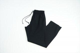 AURALEE(オーラリー)Wool Polyester Rib Knit Pants/Black