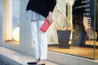 Aeta(アエタ)Long Wallet /Red/Black