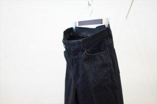 UNUSED(アンユーズド)Cotton 5P Pants/Black