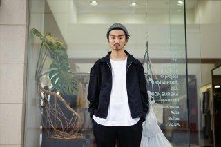UNUSED(アンユーズド)Wool Silk Jacket/Black