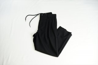 UNIVERSAL PRODUCTS(ユニバーサルプロダクツ)Summer Wool Easy AnclePants/Black